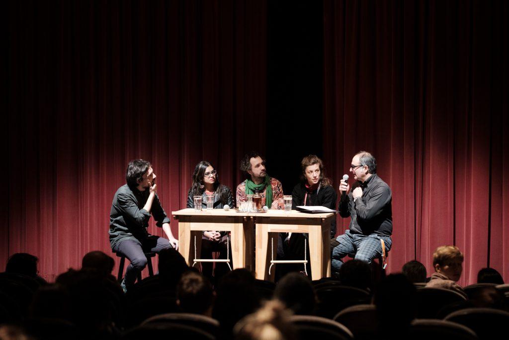 Kostas Samaras, Devika Girish, Antonin Peretjatko, Susanne Kennedy and Giona Nazzaro © Manuel Schäfer