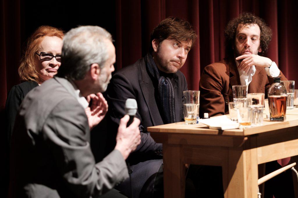 Horst Bredekamp, Ingrid Caven, Albert Serra, Aaron Schimberg © Manuel Schäfer