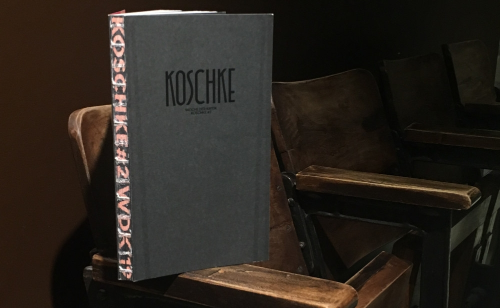 Koschke #2: The Publication of Berlin Critics' Week 2019