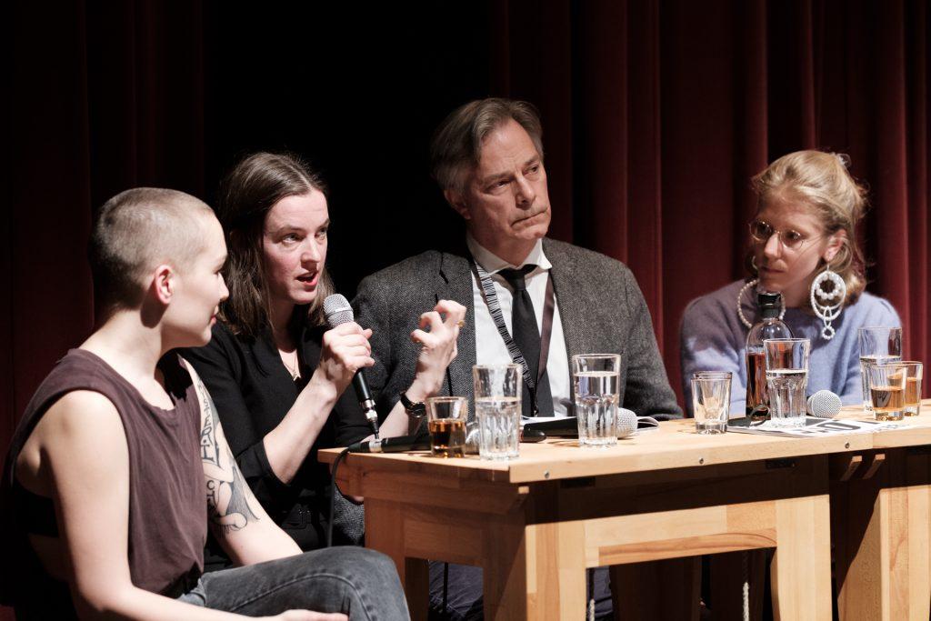 Susanne Heinrich, Nina Power, Whit Stillman, Jovana Reisinger © Manuel-Schäfer